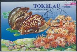 Tokelau Block9 (kompl.Ausg.) Gestempelt 1996 Porzellanschnecken (9294082 - Tokelau