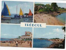 Tréboul - Ecole De Voile- Plage Saint Jean - Les Sables Blancs  (Edition Jean Audierne) - Audierne