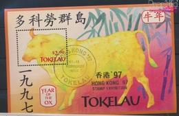 Tokelau Block10I (kompl.Ausg.) Gestempelt 1997 Chinesisches Neujahr - Hong Kong (9294080 - Tokelau