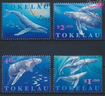 Tokelau 244-247 (kompl.Ausg.) Gestempelt 1997 Buckelwal (9294078 - Tokelau
