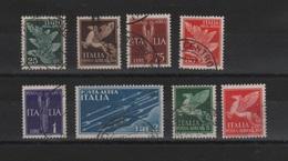 1932 Soggetti Alegorici Serie Cpl US - 1900-44 Vittorio Emanuele III