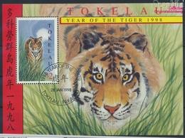 Tokelau Block12 (kompl.Ausg.) Gestempelt 1998 Chinesisches Neujahr (9294074 - Tokelau