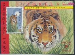 Tokelau Block12I (kompl.Ausg.) Gestempelt 1998 Chinesisches Neujahr - Singapur (9294073 - Tokelau