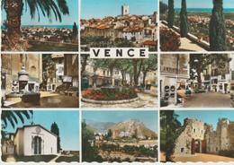 C. P. - PHOTO -  SOUVENIR DE VENCE  - 88-126 - 9 VUES - S. E. P. T. - Vence