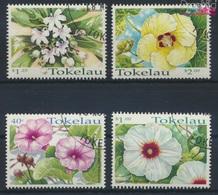 Tokelau 271-274 (kompl.Ausg.) Gestempelt 1998 Blumen (9294067 - Tokelau