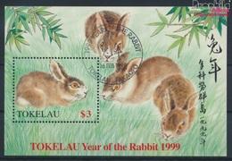 Tokelau Block16 (kompl.Ausg.) Gestempelt 1999 Chinesisches Neujahr (9294066 - Tokelau