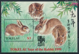 Tokelau Block16I (kompl.Ausg.) Gestempelt 1999 Chinesisches Neujahr - Nürnberg (9294065 - Tokelau