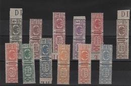 1927-32 Pacchi Aquila Sabauda Serie Cpl MNH - Nuovi