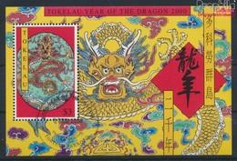 Tokelau Block20 (kompl.Ausg.) Gestempelt 2000 Chinesisches Neujahr (9294058 - Tokelau