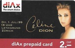Prepaid: DiAx - Celine Dion - Schweiz
