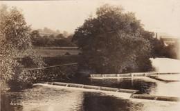 NEWTOWN, PUMP HOUSE WEIR. PHOTOCHROM CO LTD. LONDON TUNBRIDGE WELLS. CIRCA 1900's VOYAGE -BLEUP - Wales