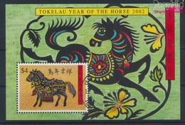 Tokelau Block25 (kompl.Ausg.) Gestempelt 2002 Chinesisches Neujahr (9294047 - Tokelau