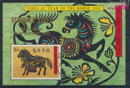 Tokelau Block25I (kompl.Ausg.) Gestempelt 2002 Chinesisches Neujahr - Hong Kong (9294046 - Tokelau