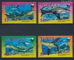 Tokelau 322-325 (kompl.Ausg.) Gestempelt 2002 Fuchshai (9294045 - Tokelau