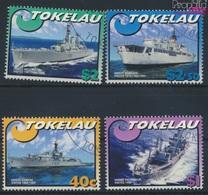 Tokelau 330-333 (kompl.Ausg.) Gestempelt 2002 Schiffe Der Royal Navy (9294042 - Tokelau