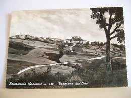 1960 - Grosseto - Roccastrada - Panorama  Sud Ovest - Vera Fotografia - Grosseto