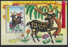 Tokelau Block27 (kompl.Ausg.) Gestempelt 2003 Chinesisches Neujahr (9294041 - Tokelau