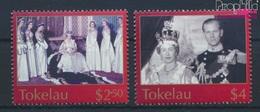 Tokelau 335-336 (kompl.Ausg.) Gestempelt 2003 Krönung Königin Elisabeth II. (9294039 - Tokelau