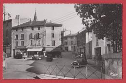 AMBERIEU EN BUGEY : Place Aristide BRIAND , Format Cpa Année 1954 étoile Des Alpes - Otros Municipios