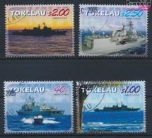 Tokelau 354-357 (kompl.Ausg.) Gestempelt 2005 Fregatte Te Kaha (9294027 - Tokelau