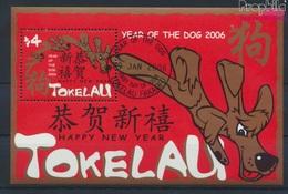 Tokelau Block33 (kompl.Ausg.) Gestempelt 2006 Chinesisches Neujahr (9294026 - Tokelau