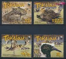 Tokelau 368-371 (kompl.Ausg.) Gestempelt 2007 Pazifik Goldregenpfeifer (9294020 - Tokelau