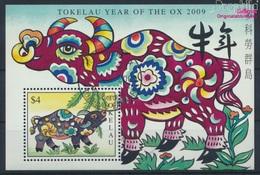Tokelau Block41 (kompl.Ausg.) Gestempelt 2009 Chinesisches Neujahr (9294015 - Tokelau