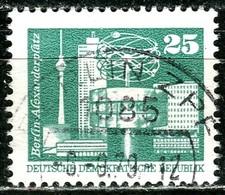 DDR - Mi 2022 - OO Gestempelt (A) - 25Pf            Aufbau In Der DDR - DDR