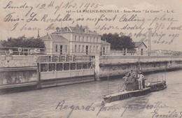 FRANCE. LA PALLICE, ROCHELLE. SOUS MARIN, LE CASTOR. L C. CIRCULEE TO LONDON. TBE-BLEUP - Francia