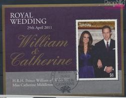 Tokelau Block46 (kompl.Ausg.) Gestempelt 2011 Hochzeit Prinz William (9294007 - Tokelau