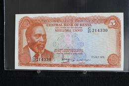 M-An / Billet  -  Kenya, 5 Shillings  / Année 1978 - Kenya