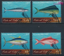 Tokelau 428-431 (kompl.Ausg.) Gestempelt 2012 Meeresfische (9294002 - Tokelau
