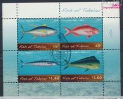 Tokelau Block48 (kompl.Ausg.) Gestempelt 2012 Meeresfische (9294001 - Tokelau