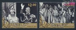 Tokelau 435-436 (kompl.Ausg.) Gestempelt 2013 Krönung Elisabeth II. (9293998 - Tokelau