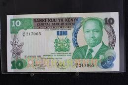 M-An / Billet  -  Kenya, 10 Shillings  / Année 1981 - Kenya