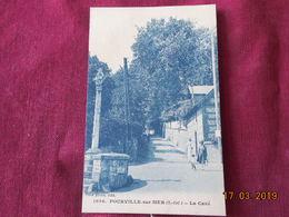 CPA - Pourville-sur-Mer - La Cavé - Francia