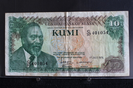 M-An / Billet  -  Kenya, 10 Shillings  / Année 1978 - Kenya