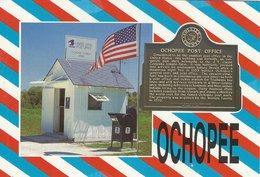 Ochopee Florida. Smallest Post Office Building In The US.   H-1548 - Poste & Facteurs
