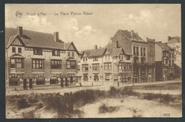 +++ CPA  - HEYST - HEIST  - Place Prince Albert - Villas   // - Heist