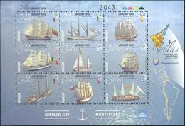 Uruguay 2018 ** HB Regata Internacional Grandes Veleros. Argentina, Ecuador, Brasil, Colombia, Venezuela, España, Chile - Uruguay