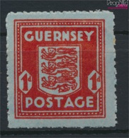 Guernsey (Dt.Bes.2.WK.) 5 Mit Falz 1944 Freimarke (9288802 - Occupation 1938-45