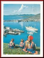★★ *STELLA POLARIS* På HAVNA. HAMMERFEST ★★ FERRY BOAT STELLA POLARIS In HARBOUR & LAPPLENDER . NORTH NORWAY ★★ - Norwegen