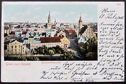 Poland / Polen / Polska: Oppeln (Opole), Gesamtansicht  1901 - Polen