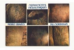 MONUMENTS MEGALITHIQUES PIERRES GRAVEES DU MORBIHAN - Dolmen & Menhirs