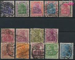 Deutsches Reich 140-153 (kompl.Ausg.) Gestempelt 1920 Germania (9293804 - Used Stamps