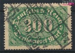 Deutsches Reich 221I, H Mit Häkchen Gestempelt 1922 Ziffern (9293797 - Germany