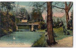DEPT 51 : édit. Le Dreff N° 41 : Chalons Sur Marne Le Jardin Du Jard Et Les Cygnes - Châlons-sur-Marne