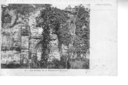 AUVERS SUR OISE  Les Ruines De La Chapelle St Nicolas ( Précurseur ) - Auvers Sur Oise
