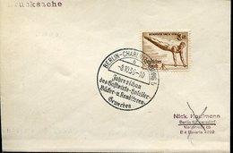 43776 Germany Reich, Special Postmark Berlin 1936 Jahresschau Des Hotelier Backer U. Konditoren Gewerbes - Briefe U. Dokumente