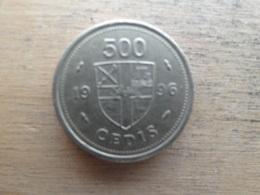 Ghana  500 Cedis  1996  Km 34 - Ghana